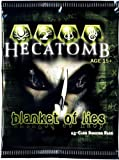 Hecatomb Trading Card Game Blanket of Lies Booster Pack 13 Cards