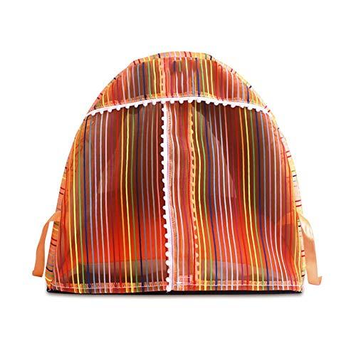 Zjyfywpj Der Zwinger Hat EIN Moskitonetz Isomatte ist Abnehmbar und Leicht Zu Reinigen es Kann Überall im Haus Aufgestellt Werden (Farbe : Orange, Größe : L)