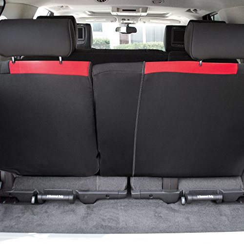 FH GROUP – Funda para Asiento de cubeta, Red-Bench