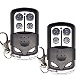 Mando a Distancia para Garaje compatible para ERRE Luna2 Luna3 ERR Reson1 Reson2 remoto 433 mhz código fijo 2pack