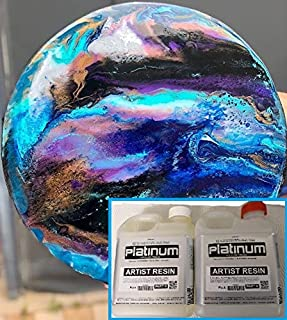 ARTIST EPOXY RESIN - 1:1 ULTRA CLEAR coating. High Gloss. UV StabilIsed (500ml)