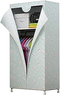CXVBVNGHDF Armoire en Tissu Armoire à vêtements, Placard Portable Penderie de Rangement Penderie Debout Armoire en Tissu A...