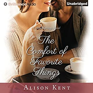 The Comfort of Favorite Things audiobook cover art