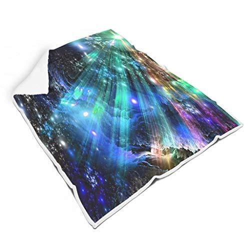 STELULI Mantas Sky de dos tamaños supersuaves y multifuncionales, para sofá, para niñas, regalo blanco de 50 x 60 pulgadas