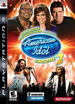 Karaoke Revolution  Presents American Idol Encore 2 with Microphone - Playstation 3