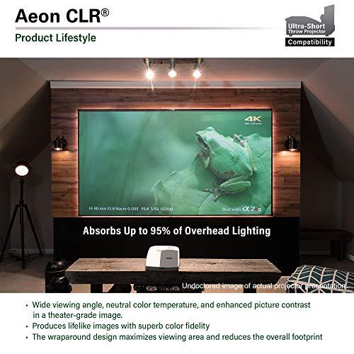 Elite Screens Rahmenleinwand für ultranahdistanz Beamer Aeon Edge Free CLR 266 x 149 cm, 16:9 Format 120 Zoll, AR120H-CLR