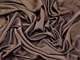 Royal Micro Dull Satin Crepe Kleid Stoff