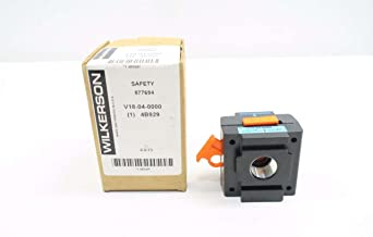 NEW WILKERSON V18-04-0000 150 PSI 1/2 IN PNEUMATIC SAFETY SHUT OFF VALVE D544299