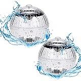 DASIAUTOEM Luz sumergible para bañeras, iluminación bajo el agua, iluminación para estanques, bola de flotación, iluminación de piscina, lámpara esférica para jardín, piscina, base de jarrone