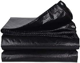 Yxsd regendichte doek waterdicht zonnezeil dekzeil plastic doek isolatie driewieler zonnekap doek luifel doek zwart verdik...