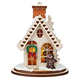 Ginger Cottages Gingerbread Cottage Ornaments for Christmas Tree