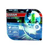 OSRAM 2x H4 P43t FOG BREAKER 55W 62193FBR OFF-ROAD YELLOW LIGHT 2600K