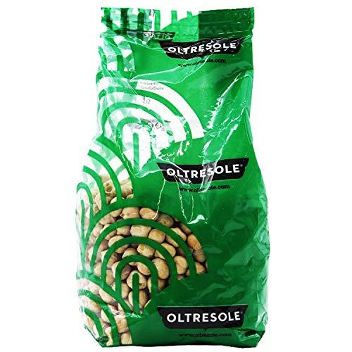 Oltresole - Ceci Biologici 350 g - legumi secchi bio da coltivazione controllata, naturalmente senza glutine, ottimi per preparare zuppe, insalate, vellutate, e altre ricette salutari