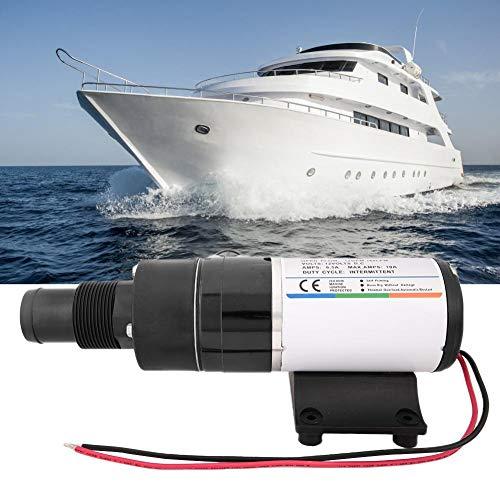 lahomie- Schmutzwasserpumpen,RV-Pumpe DC12V Langlebige Wohnmobile Schiff Küche Industrie RV Mount Mazerator Abwasserpumpe 12GPM