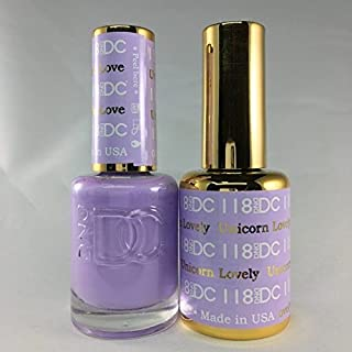 DND DC Duo Gel + Polish - 118 Unicorn Lovely