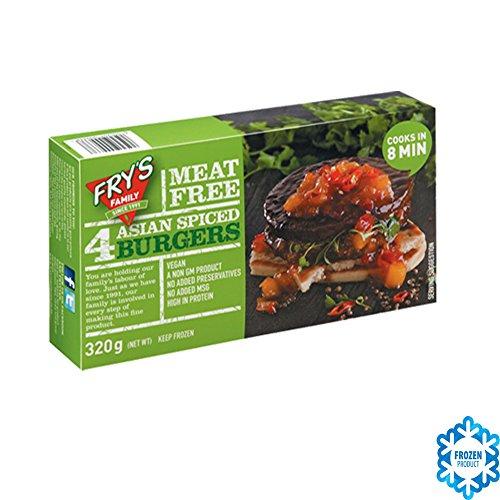 Fry's Family Vegetariano HAMBURGUESAS CON ESPECIAS (VEGANO) 320GR - Congelado