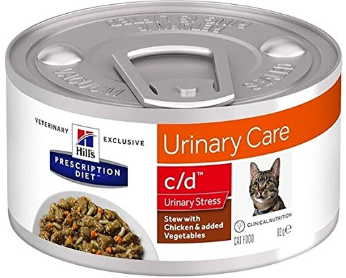 HILL S Prescription Diet Urinary Stress - Chicken Stew for Cats 82 g