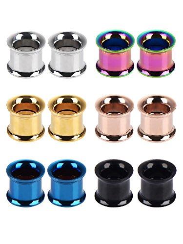 00 stainless steel plugs - 2