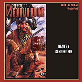 Jedidiah Boone audiobook cover art