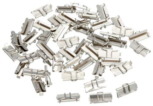 Märklin 59095 - Schienenverbinder Inhalt 50 Stück (H1015), Spur 1