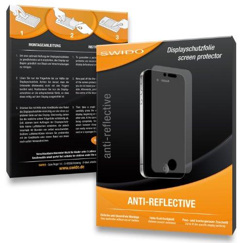 SWIDO 3X023765 Anti-reflektierende hartbeschichtet Displayschutzfolie für Samsung WB110/WB-110 (3-er Pack)