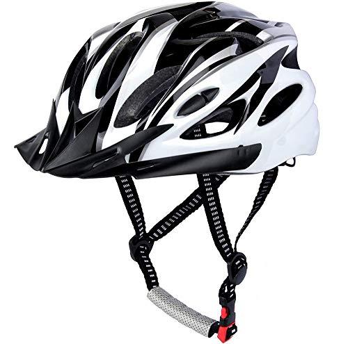 CXING Casco de bicicleta para adultos, casco de ciclo, casco de bicicleta especializado para protección de seguridad para hombre y mujer, colocado con una diadema, deportes al aire libre