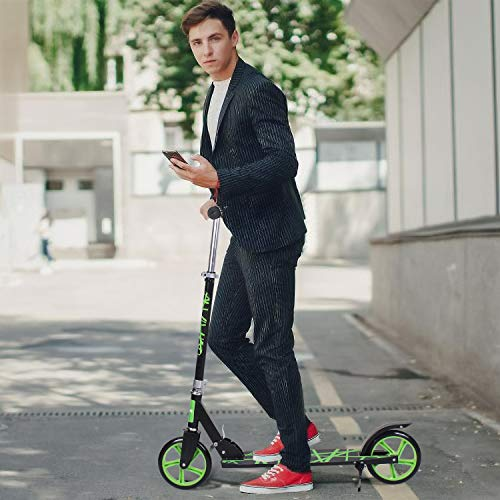 Birtech Adult Scooter, Kick Scooter Foldable Lightweight Urban Sport Scooter with 3-Level Adjustable...