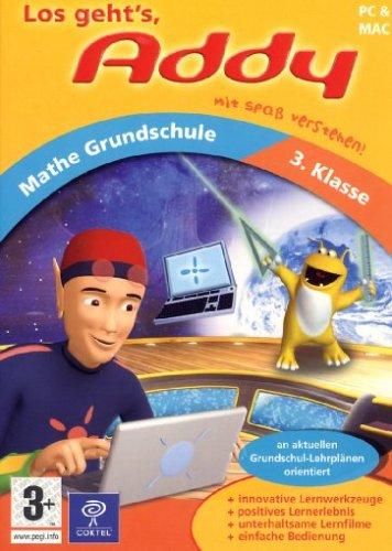 Preisvergleich Produktbild Addy Mathe Grundschule 3. Klasse (PC+MAC)