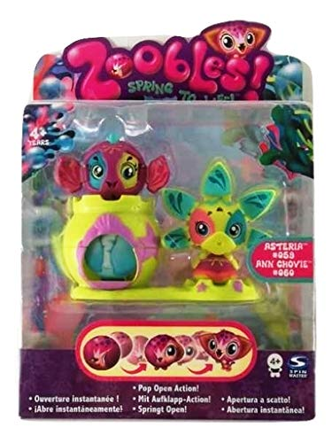 SOG a Scelta Zoobles Spinmaster-Drop in Playset TV