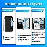 Zoom IMG-2 portafoglio da viaggio porta passaporto