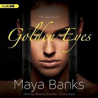 Golden Eyes audiobook cover art