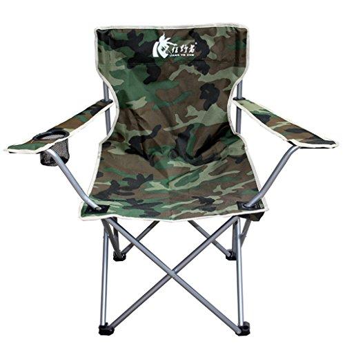 MUTANG Park Camping Chaise Chaise Pliante Ménage Léger Chaise Pliante Chaise Portable Chaise de Plage Chaise de Pêche Peinture Peinture Chaise Vert