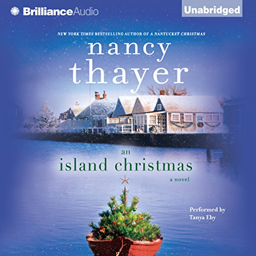 An Island Christmas audiobook cover art