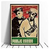 hutianyu Public Enemy Musik Sänger Poster Hip Hop Rap