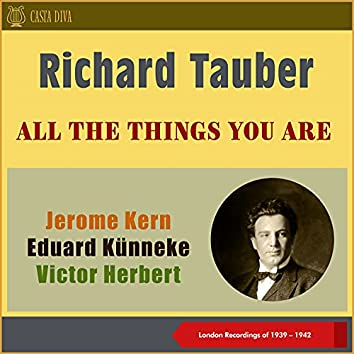 All the Things You Are (London Recordings of 1939 - 1941)