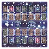 Yu-gi-oh Arc-v Card Rubber Play Mat 60x60cm Egypt Galaxy Style Competition Pad Playmat Monster Zone for Yu-gi-oh Card (AS Show)