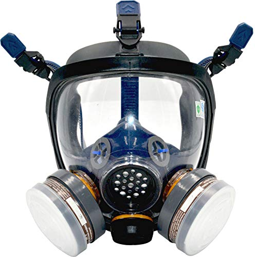 Organic Vapor Respirator full face gas mask with Activated Carbon Air Filter