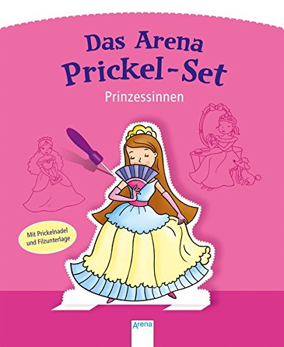 Prinzessinnen: Das Arena Prickel-Set