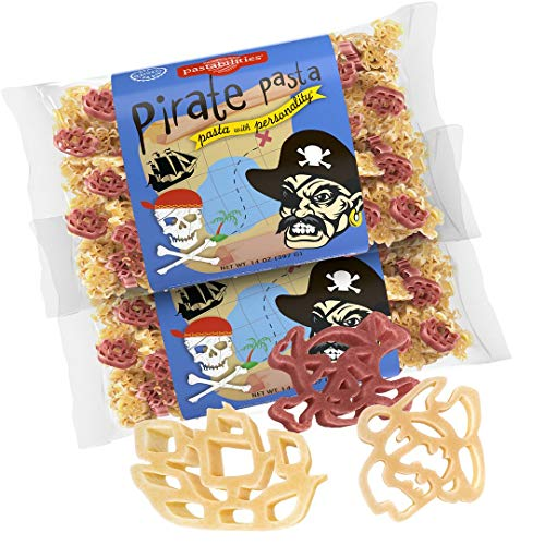 Pirate-Shapes Pasta (2 x 14oz)