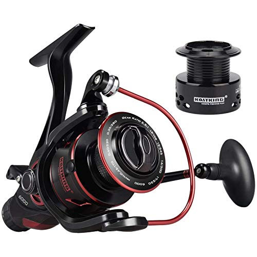 KastKing Sharky Baitfeeder III Spinning Fishing Reel,Size 6000