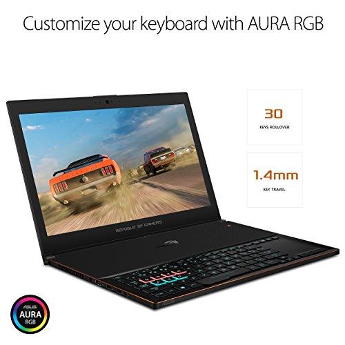 ASUS ROG Zephyrus GX501GI-EI004T 15.6-inch FHD Gaming Laptop (8th Gen Intel Core i7-8750H/24GB/1TB SSD/Windows 10/GTX 1080 8GB Graphics/2.26 Kg), Black