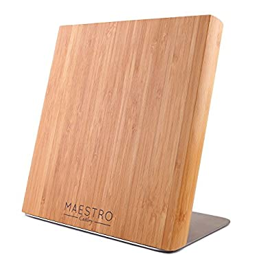 Maestro Cutlery Volken Series German High Carbon Stainless Steel Professional Knifes - Choose Your Knife (Bamboo Block)