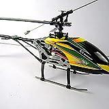 UimimiU Al Aire Libre Grande RC Helicopters Kids Toy 4ch Helicóptero de Control Remoto de una Sola Cuchilla con gyro una Llave quiese/aterrizando RC Radio for niños for principi