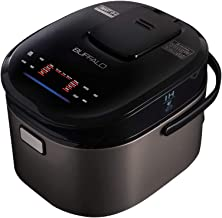 Buffalo Titanium Grey IH SMART COOKER, Rice Cooker and Warmer, 1.5L, 8 cups of rice, Non-Coating inner pot, Efficient, Multiple function, Induction Heating (8 cups)