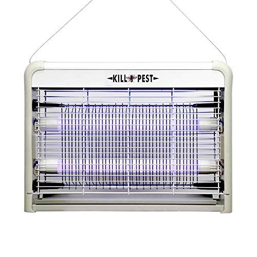 ForTech Bug Zapper, Electric Indoor Bug and Fly Zapper, Fly Killer, Mosquito Killer, Insect Killer - 4W LED Light for Residential, Commercial and Industrial ?Upgraded Version