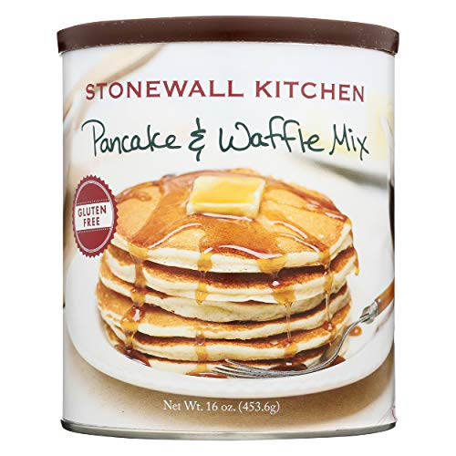 Stonewall Kitchen Gluten Free Pancake and Waffle Mix, 16 Ounce