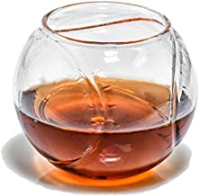 Baseball Whiskey Glass - Rocks Glass for Rum, Tequila, Scotch, Glasses- Whiskey Gifts - 10oz Cocktail, Lowball, Old Fashioned Glass (Set of 2) Baseball Bar Decor & Bourbon Gifts by Prestige Decanters