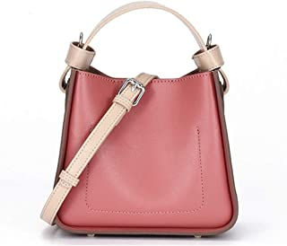 Yyqt Ladies Fashion Bag,Tote Washed Leather Purses Bag, Messenger Shoulder Bag, Handbags for Women Fashion Ladies Purses
