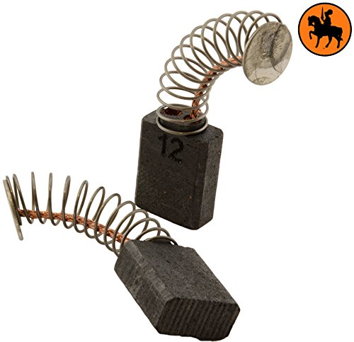 Buildalot Specialty koolborstels ca-17-20877 voor Metabo boormachine HO 0883-5x10x12,5 mm - met automatische uitschakeling - vervanging voor originele onderdelen 31603373, 316033730 & 600531420