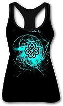 Break Blue Logo Benjam Women's Tank Top Printed Summer Workout Training Tanktops Casual Shirts